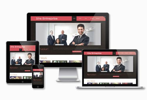 Création de sites web d'entreprises